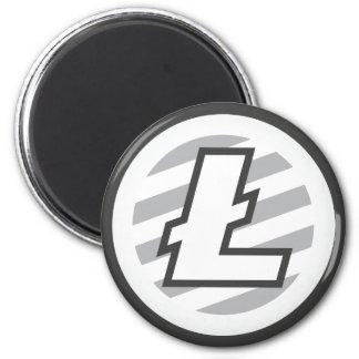 Aimant rond de LiteCoin