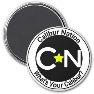 Aimant rond de nation de Calibur