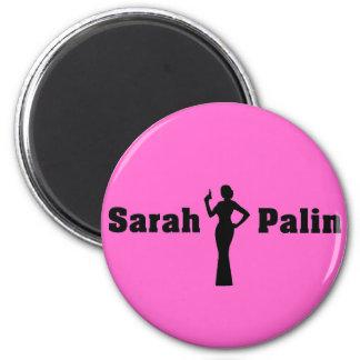 Aimant rond de Sarah Palin