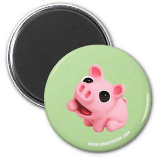 Aimant Rosa the Pig est Hungry