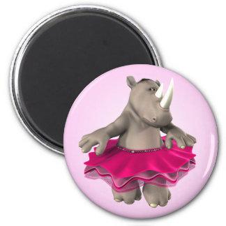 Aimant rose de rhinocéros
