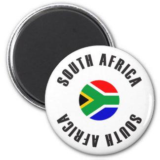 Aimant Roue de drapeau de l'Afrique du Sud