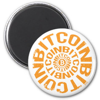 Aimant Roulement Bitcoin - orange