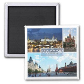 Aimant RU * La Russie - Moscou