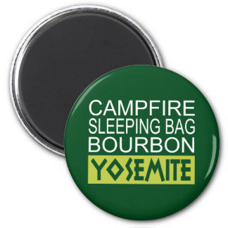 Aimant Sac de couchage de feu de camp Bourbon Yosemite