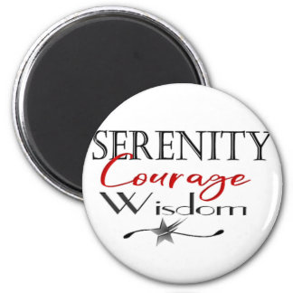 Aimant Sagesse de courage de sérénité
