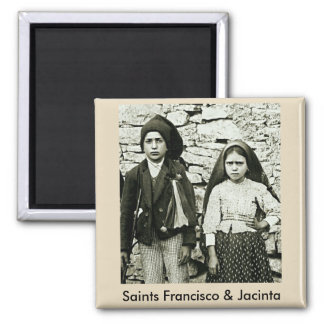 Aimant Saints Francisco et Jacinta de Fatima