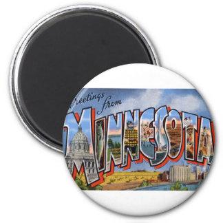 Aimant Salutations du Minnesota