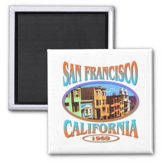 Aimant San Francisco la Californie 1969