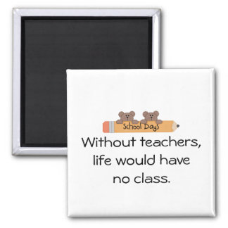 Aimant Sans professeur-personnaliser il