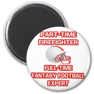 Aimant Sapeur-pompier. Expert en matière du football