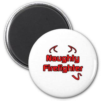 Aimant Sapeur-pompier vilain