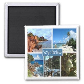 Aimant Sc * Les Seychelles - collage