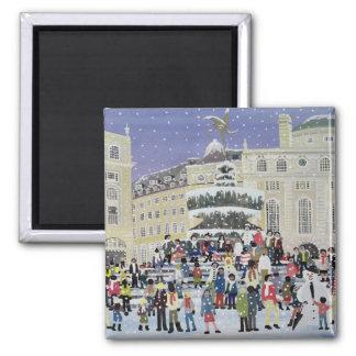Aimant Scène de neige de Piccadilly