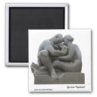 Aimant Sculpture en Gustav Vigeland - Oslo, Norvège -
