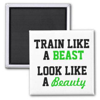Aimant Séance d'entraînement de motivation