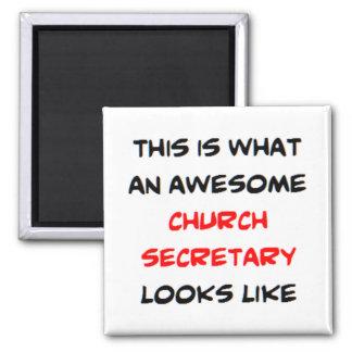 Aimant secrétaire impressionnant d'église