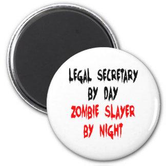 Aimant Secrétaire juridique de tueur de zombi