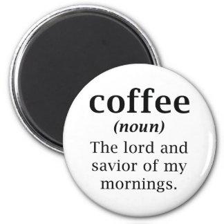 Aimant Seigneur et sauveur de café