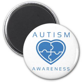 Aimant Sensibilisation sur l'autisme