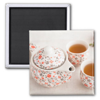 Aimant Service à thé en céramique
