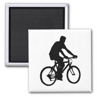 Aimant Silhouette de cycliste