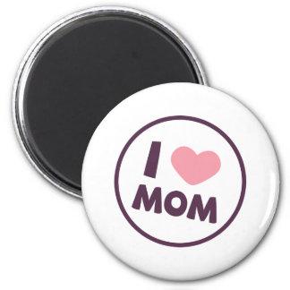 Aimant simple du jour de mère de maman d'amour d'I