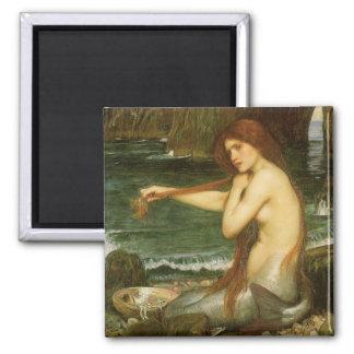 Aimant Sirène par le château d'eau de JW, art victorien