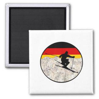 Aimant Ski Allemagne