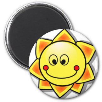 Aimant Smiley de Sun, Sun heureux