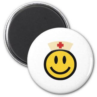 Aimant Smiley d'infirmière