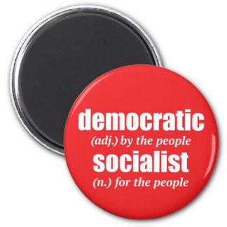Aimant socialiste Democratic de définition