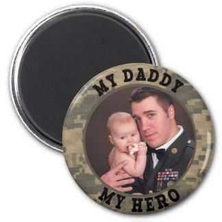 Aimant Soldat militaire mon papa mon cadre de photo de