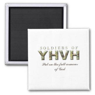 Aimant SOLDATS de chrétien de YHVH