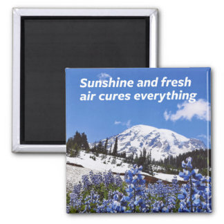Aimant Soleil et air frais