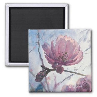 """Aimant solo d'art de """"fleurs de cerisier"""""""
