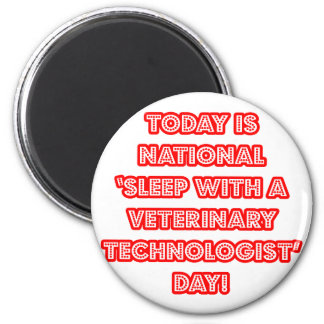 """Aimant """"Sommeil avec le jour national d'une technologie"""