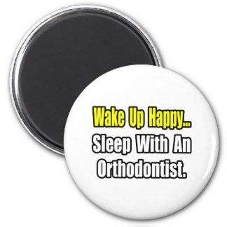 Aimant Sommeil avec un orthodontiste