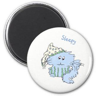 Aimant somnolent d'humeur