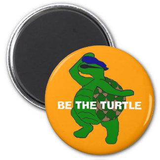 Aimant Soyez l'aimant de tortue