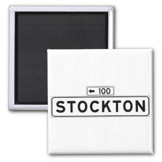 Aimant St de Stockton, plaque de rue de San Francisco
