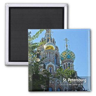 Aimant St Petersburg, église du sauveur sur le sang