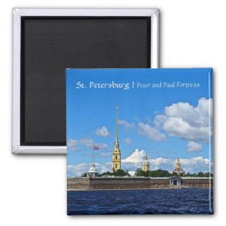 Aimant St Petersburg, Peter et forteresse de Paul