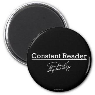 Aimant Stephen King, lecteur constant