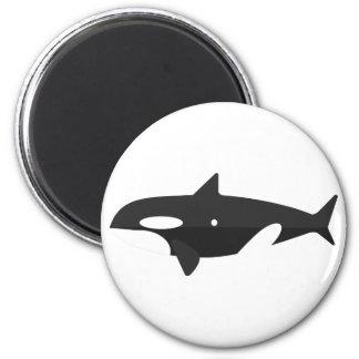 Aimant Style de primitif de baleine d'orque