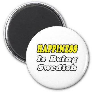 Aimant Suédois de bonheur…