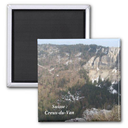 Aimant Suisse : Creux-du-Van -