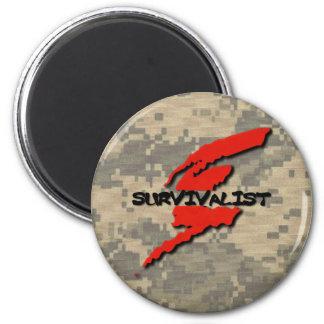 Aimant Survivalist Prepper