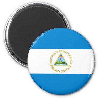Aimant symbole de nation de drapeau de pays du Nicaragua
