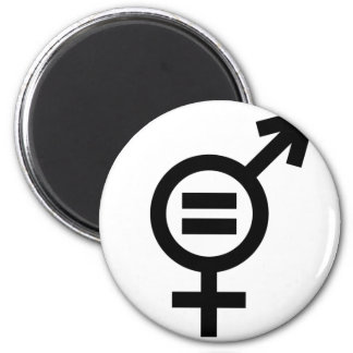 Aimant Symbole d'égalité entre les sexes